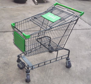 160L Australia Style Shopping Trolleys with Big Capacity for Supermarket pictures & photos