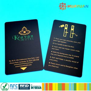 America hot sell 13.56MHz MIFARE Classic 1K RFID smart Hotel room key card pictures & photos
