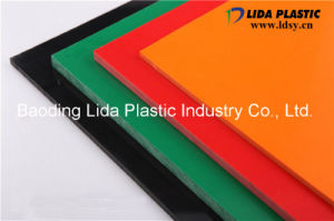 Extrusion Hard PVC Colored Sheet pictures & photos