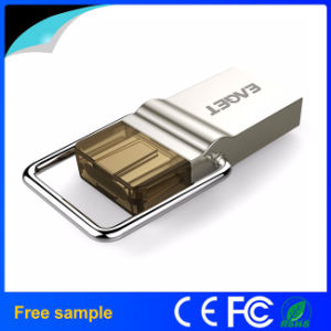 High Speed USB 3.0 Metal OTG USB Flash Drive 32GB 64GB pictures & photos