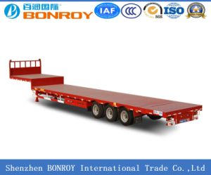 40FT 3axle Flatbed Container Semi-Trailer pictures & photos