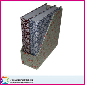 High Quality Cardboard Customized Printing Desk Collection Magazine File Storage Paper Box pictures & photos