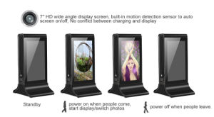 New Product IPS LCD Screen Restaurant Menu Power Bank Charging Staion 20800mAh Power Bank pictures & photos