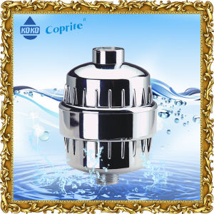 3 Stage Universal Shower Filter High Output Water Chromed Kdf Shower Filter pictures & photos