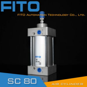 Sc80 Series Standard Air Pneumatic Cylinder ISO6430 Airtac pictures & photos