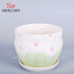 Stylish Home Furnishings Ceramic Vase The Balcony Flowerpot pictures & photos