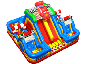 Variety of Combination Car Cheap Inflatable Obstacle Course Hot Sale pictures & photos