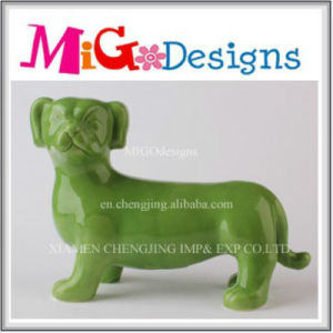 Colour OEM Welcome Ceramic Animal Coin Box for Collection pictures & photos