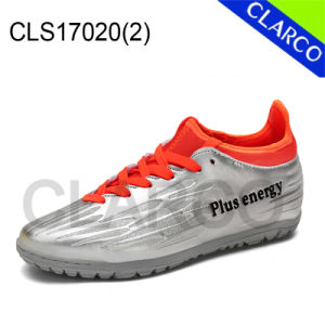 Men Sports Soccer and Football Indoor Shoes with TPR Sole pictures & photos