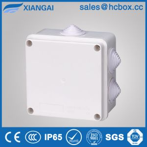 Waterproof Junction Box Plastic Box Wall Box Connection Box IP65 Box Hc-Ba100*100*70mm pictures & photos