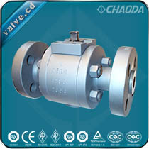 Flanged Ends High Pressure Forged Floating Ball Valves pictures & photos