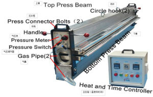 Vulcanizing Press Equipment Hot Press Water Cooling Machine for PVC/PU Conveyor Belt Joint pictures & photos