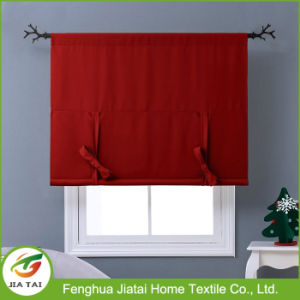 Hot Selling Curtain Valances Kitchen Red Kitchen Curtains pictures & photos