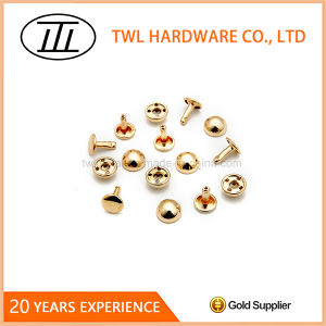 Commonly Used Mushroom Iron Rivet with 10mm Size pictures & photos