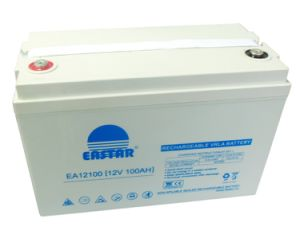 Storage Sealed Lead Acid 12V 100ah Solar Battery pictures & photos