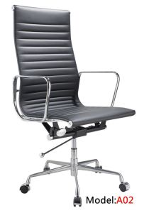 Office Leather Hotel Executive Ergonomic Eames Aluminium Chair (RFT-A02) pictures & photos