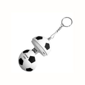 Football USB Personalization USB Flash Drive Can Be Customized Logo Open Mold 256GB pictures & photos