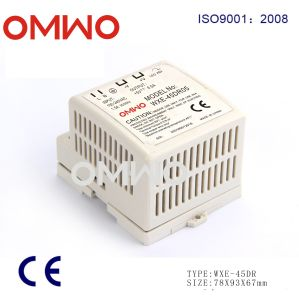 Wxe-45dr-05 45W Single Output Industrial DIN Rail Power Supply pictures & photos