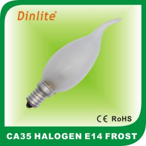 CA35 E14 Candle Tailed Clear Eco halogen bulb pictures & photos