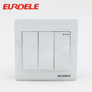 10A/250V 86*86mm PC White Electric Wall Switch pictures & photos