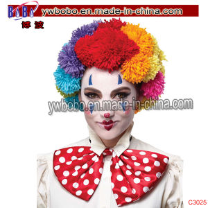 POM Clown Wig Rainbow Novelty Birthday Promotion Gift (C3025) pictures & photos