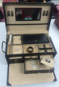 Luxury PU Jewelry Storage Box pictures & photos