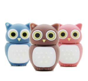 Cartoon Owl USB Flash Drive PVC Flash Memory 8GB USB on Key pictures & photos