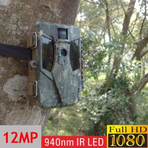 940nm Motion Triggered Game Stealth CMOS Trail Hunting Camera with Optional Extenal Solar Panel pictures & photos
