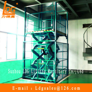 Hydraulic Warehouse Lift (SJG2-9.5) pictures & photos