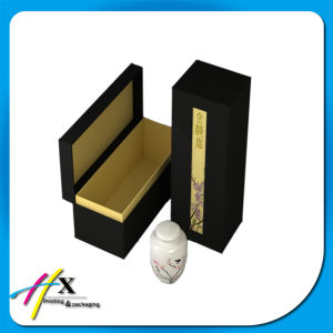 Rectangle Hard Paper Cardboard Gift Wine Bottle Box pictures & photos