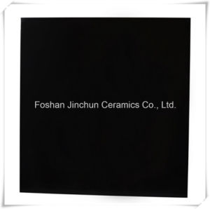 Super Black 9.5mm Porcelain Polished Flooring Tile pictures & photos