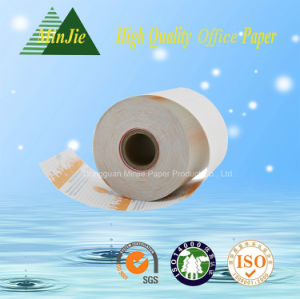 High Quality OEM Thermal Printed Receipt Paper Roll with Printing on Back pictures & photos