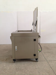Tense China Ultrasonic Cleaning Machine with Wheels/Lid/Basket/Drain pictures & photos