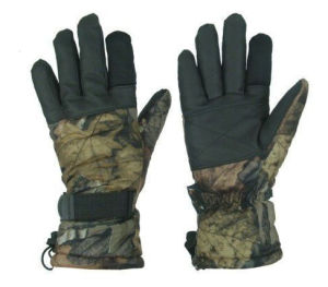 Classical Anti-Stab Military Multicamo Water-Proof Wild Traning Multicamo Camouflage Tactical Outdoor Bionic Full-Half Finger Sports Travelling Leather Glove pictures & photos