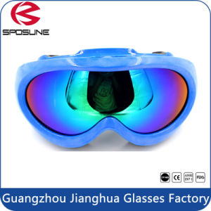 Quality Revo Coated Fog Resistant Sports Goggles Hot Sale Kids Skiing Goggles pictures & photos