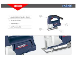 Makute 450W Electric Jig Saw for Cutting Wood and Metal (JS011) pictures & photos