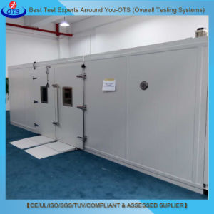 Climate Chamber with Dynamometer Walk-in Assembled Temperature Humidity Test Chamber pictures & photos