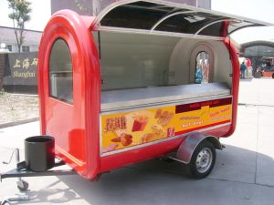 Snack Cart, Food Cart Trailer and Mobile Food Trailer Kitchen Booth pictures & photos
