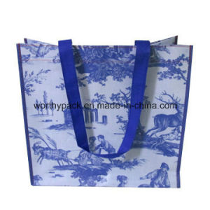 PP Laminate Woven Shopping Bag for Promotion and Advertising