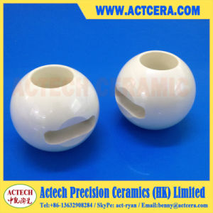 Zirconia and Alumina Ceramic Ball Valve China pictures & photos