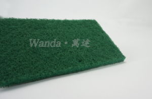 Good Scourer Green Dish Washing Pad with Plenty Abrasive Grains pictures & photos