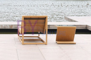 Boyue Beach Lying Bed PE Rattan Furniture pictures & photos