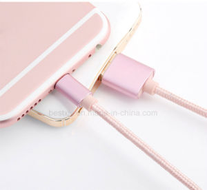 Phone USB Data Charging Cable with 3 Males Ports for Power Bank pictures & photos