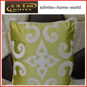 Embroidery Decorative Cushion Fashion Velvet Pillow (EDM0340)