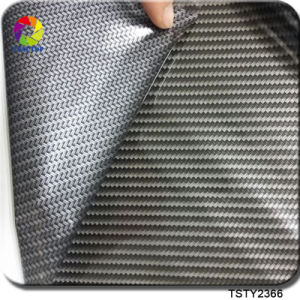 Tsautop New Arrival 0.5m Wide Carbon Fiber Water Transfer Printing Hydrographics Film for Hydro Dipping Tsck8063-1 pictures & photos