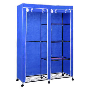 Good Price Fabric Wardrobe in Stock Jp-125fabw pictures & photos