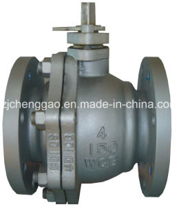 Forged Carbon Steel High Pressure Ball Valve