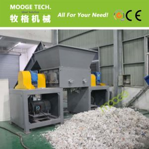 Woven bags double single shaft shredder machine pictures & photos