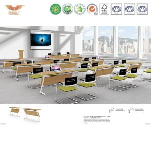 Folding Conference Table, Multi Shape Foldable Meeting Desk (H90-0406) pictures & photos