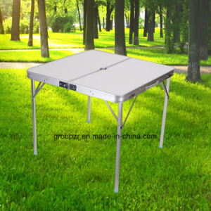 Portable Folding Table Camping Aluminum Table pictures & photos